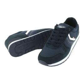 NEWS buty sportowe męskie 20MN20-2150 białe granatowe 3