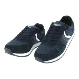 NEWS buty sportowe męskie 20MN20-2150 białe granatowe 2