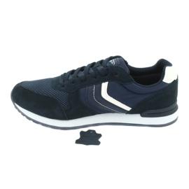 NEWS buty sportowe męskie 20MN20-2150 białe granatowe 1