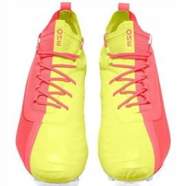 Buty piłkarskie Puma One 20.1 M Fg Ag 105956 01 żółte szare 1