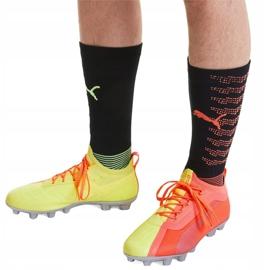 Buty piłkarskie Puma One 20.1 M Fg Ag 105956 01 żółte szare 4