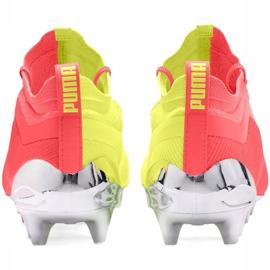 Buty piłkarskie Puma One 20.1 M Fg Ag 105956 01 żółte szare 5