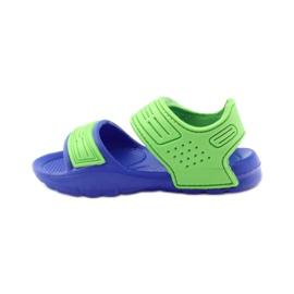 American Club sandałki do wody niebieskie zielone 2