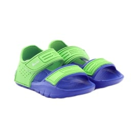 American Club sandałki do wody niebieskie zielone 4