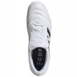 Buty piłkarskie adidas Copa Gloro 20.2 Fg M G28627 wielokolorowe białe 2