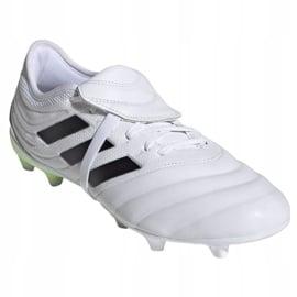 Buty piłkarskie adidas Copa Gloro 20.2 Fg M G28627 wielokolorowe białe 3