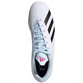 Buty piłkarskie adidas X 19.4 FxG M EF1699 wielokolorowe białe 1