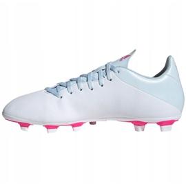 Buty piłkarskie adidas X 19.4 FxG M EF1699 wielokolorowe białe 2