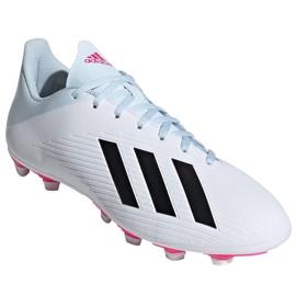 Buty piłkarskie adidas X 19.4 FxG M EF1699 wielokolorowe białe 3