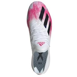 Buty piłkarskie adidas X 19.1 Sg M EG7143 wielokolorowe białe 2