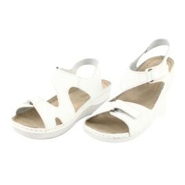 Inblu obuwie damskie sandały 158D113 białe 3