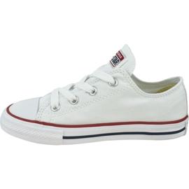 Buty Converse Chuck Taylor All Star Kids 7J256C białe 1