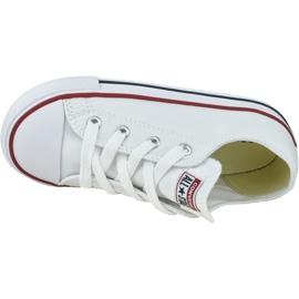 Buty Converse Chuck Taylor All Star Kids 7J256C białe 2