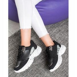 Mckeylor Modne Sneakersy czarne 6