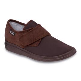 Befado obuwie męskie  pu 036M008 brązowe 1