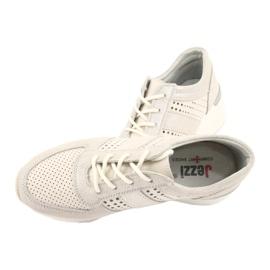 Jezzi Wygodne buty sportowe na koturnie 20PB08-1641 wielokolorowe 4