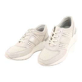 Jezzi Wygodne buty sportowe na koturnie 20PB08-1641 wielokolorowe 2
