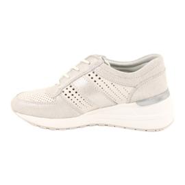 Jezzi Wygodne buty sportowe na koturnie 20PB08-1641 wielokolorowe 1