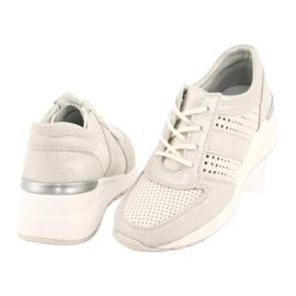 Jezzi Wygodne buty sportowe na koturnie 20PB08-1641 wielokolorowe 3