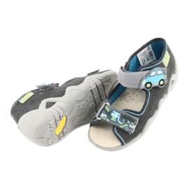 Befado żółte obuwie dziecięce 350P012 szare 4