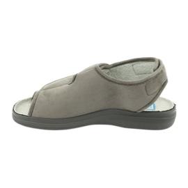 Befado obuwie damskie pu 676D006 szare 2