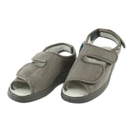 Befado obuwie damskie pu 676D006 szare 3