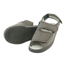 Befado obuwie damskie pu 676D006 szare 4