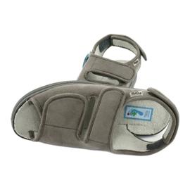 Befado obuwie damskie pu 676D006 szare 5
