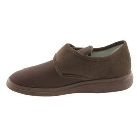 Befado obuwie męskie  pu 036M008 brązowe 3