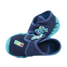 Befado obuwie dziecięce 523P015 granatowe niebieskie 5