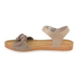 Comfort Inblu obuwie damskie 158D118 szare 3