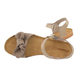 Comfort Inblu obuwie damskie 158D118 szare 5