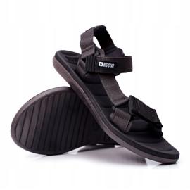Sportowe Sandały Męskie Szare Big Star FF174501 6