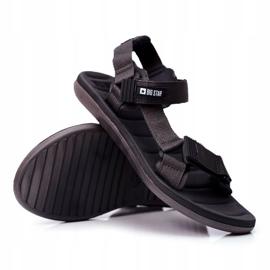 Sportowe Sandały Męskie Szare Big Star FF174501 3
