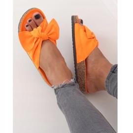 Klapki korkowe pomarańczowe G-580 Orange 2