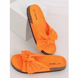 Klapki korkowe pomarańczowe G-580 Orange 1