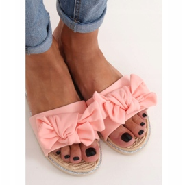 Klapki damskie różowe WS9020 Pink 3