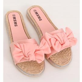 Klapki damskie różowe WS9020 Pink 1
