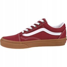 Buty Vans Old Skool VN0A4U3BWZ0 czerwone 1