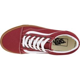 Buty Vans Old Skool VN0A4U3BWZ0 czerwone 2