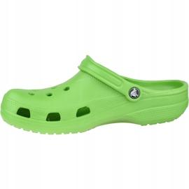 Klapki Crocs Beach M 10002-320 zielone 1