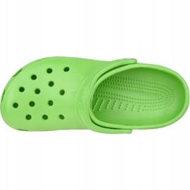 Klapki Crocs Beach M 10002-320 zielone 2