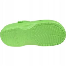 Klapki Crocs Beach M 10002-320 zielone 3