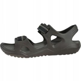 Sandały Crocs Swiftwater River Sandals M 203965-23K brązowe 1