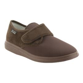 Befado obuwie męskie  pu 036M008 brązowe 2