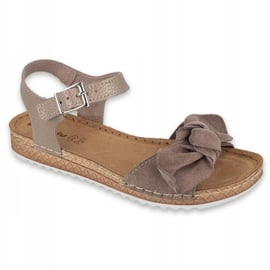 Comfort Inblu obuwie damskie 158D118 szare 1