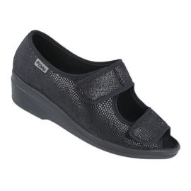 Befado obuwie damskie pu 051D014 czarne 1