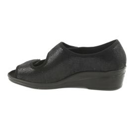 Befado obuwie damskie pu 051D014 czarne 3