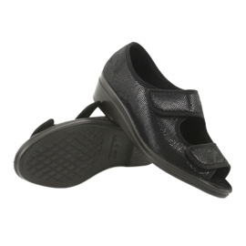 Befado obuwie damskie pu 051D014 czarne 4