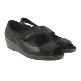 Befado obuwie damskie pu 051D014 czarne 5